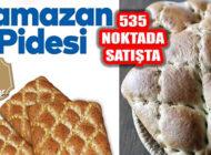 Halk Ekmek Pideleri İstanbul'un 535 Noktasında Satışta