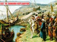 İstanbul'un Fethi'nin 567. yılı törenle kutlanıyor