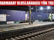 Marmaray İle Avrupa'ya İlk İhracat Treni Hareket Etti