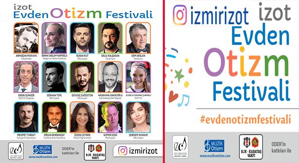 İZOT Evden Otizm Festivali'ne BJK Kabataş Vakfı'ndan Destek
