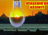 Ataşehir'in Bazı Bölgelerinde 9 Saati Bulan Elektrik Kesintisi