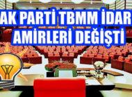 AK Parti TBMM Grubunda Yeni Görevliler Belirlendi