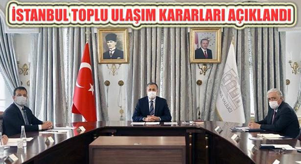 Valilikte Toplanan İl Hıfzıssıhha Kurulu İstanbul'un Ulaşımını Görüştü