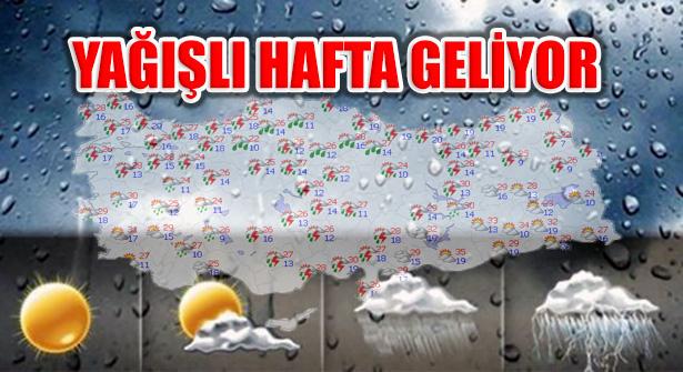 Marmara, Ege ve Batı Karadeniz'de yağış kuvvetli