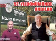 Nâzım Hikmet Ataşehir Belediyesi'nin Etkinliğinde Anıldı