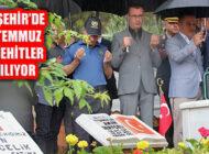 15 Temmuz Milli Birlik Günü ve Şehitleri Ataşehir'de Anılıyor