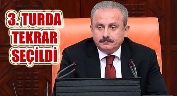 AK Partili Mustafa Şentop, Yeniden TBMM Başkanı