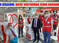 Ak Parti Ataşehir'den  Kan Bağış Kampanyası : 'Kan Ver Can Ver'