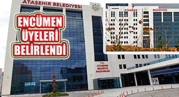 Ataşehir Belediye Encümeni 3 Üyesi Belirlendi