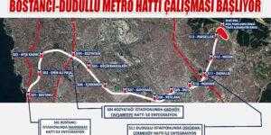 Dudullu-Bostancı Hattı'nda Çalışmalar Yeniden Başlıyor