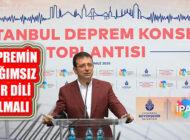 Ekrem İmamoğlu, 'İstanbul'un En Büyük Tehdidi Depremdir'