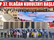 CHP 37. Olağan Kurultayı Ankara'da Anıtkabir Ziyareti İle Başlıyor