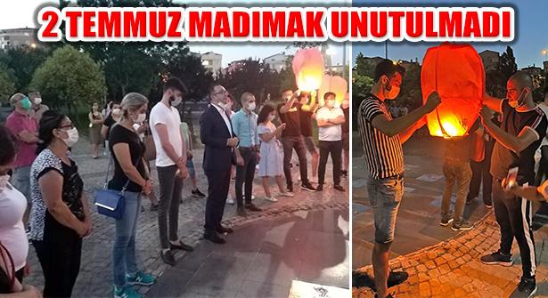 Sivas Madımak'ta Katledilenler Ataşehirlilere Unutturulmadı