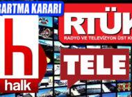 RTÜK Görülmemiş Karar: Halk TV Ve TELE1 Ekranlarını Karartıyor