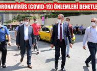 Ataşehir'de 'Sağlık İçin Hepimiz İçin' Sloganıyla Denetimler Yapıldı