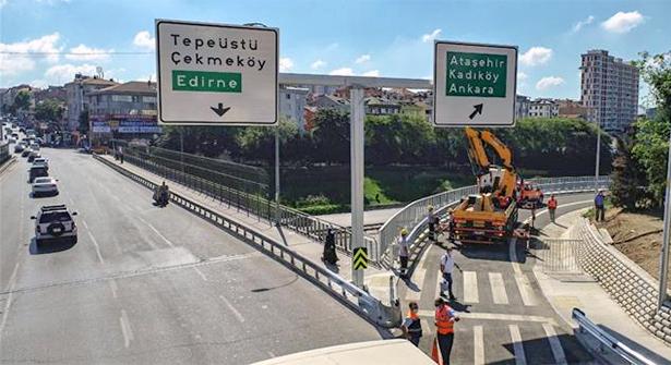 Ankara Yönünü Rahatlatacak Çakmak Tem Bağlantı Yolu Açıldı