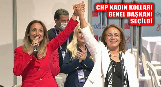 CHP Kadın Kolları Kurultayında Genel Başkan Seçildi