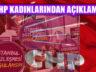CHP Ataşehir , 'İstanbul Sözleşmesi Kırmızı Çizgimizdir!'
