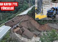 Giresun'daki Sel Felaketinde Yaşamını Yitirenlerin 7'ye Yükseldi