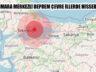 Marmara Denizi'nde Marmara Ereğlisi Merkezli Deprem