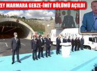Kuzey Marmara Otoyolu Gebze-İzmit Bölümü Açıldı
