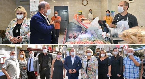 Başkan Kılıç'tan Maltepe'de Koronavirüs Denetimi