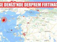 Ege Denizi'nde Gökçeada Açıklarında 4,5 ve 4,0 Büyüklüğünde Depremler