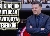 Beşiktaş Kadın Futbol Takımında Mutlucan Zavotçu'ya Teşekkür
