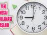 İstanbul'da Mesai Saatleri Düzenlemesi Uygulanmaya Başladı
