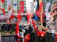 Ataşehir Caddelerinde Bandolu Cumhuriyet Coşkusu