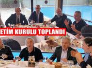 Ataşehir Amatör Spor Kulüpler Birliği Yönetim Kurulu Toplandı