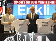 #bırakmamseni Diyen Erikli,  Beşiktaş JK İle Sponsorluk Anlaşmasını Yeniledi