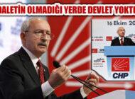 Kılıçdaroğlu, 'Adaletin Olmadığı Yerde Devlet Yoktur'