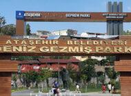 Ataşehir'deki Deniz Gezmiş Parkı'nın ismi Deprem Parkı Oldu