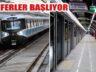 M7 Mecidiyeköy Mahmutbey Metrosu'nda Seferler Başlıyor