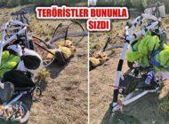 Teröristler Amanoslara Suriye'den Paramotorla Sızdı!