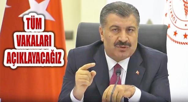 Bakanı Koca, '15 Ekim'den İtibaren Tüm Vakaları Açıklayacağız'