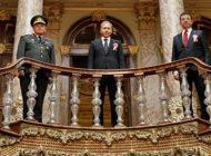 Atatürk'ü Anma Dolmabahçe Sarayı'nda Devam Etti