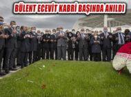 Bülent Ecevit 14. Yılında Kabri Başında Anıldı