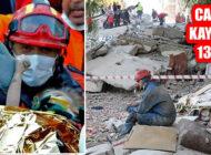 İzmir Depreminde arama ve kurtarma Tamam: 137 Can Kaybı
