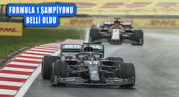 Formula 1 Türkiye, Şampiyon Mercedes Pilotu Hamilton'un