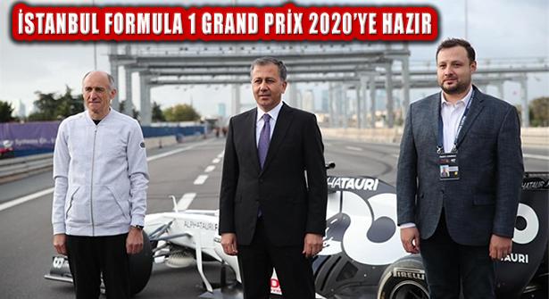 Vali Yerlikaya: 'İstanbul, En Güzel Şekilde Formula 1 Yarışlarına Hazırlandı'