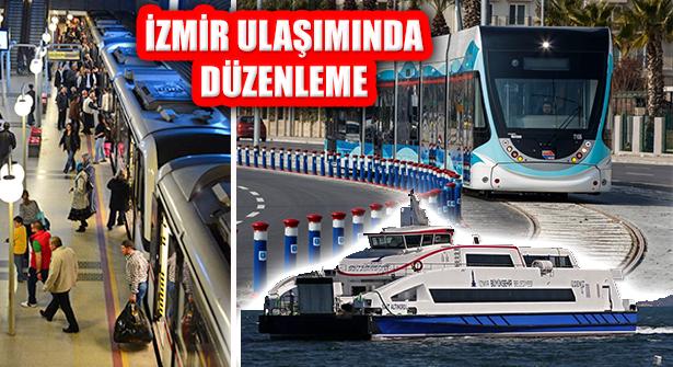 İzmir Büyükşehir Belediyesi'nden Toplu Ulaşıma Pandemi Ayarı