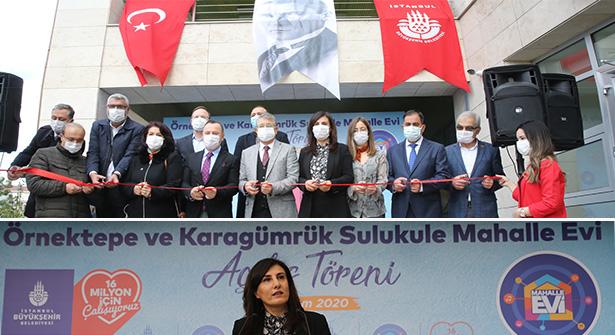 İstanbul Örnektepe ve Sulukule Mahalle Evleri Açıldı