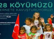 Mansur Yavaş, Ankara'nın 928 Köyüne Ücretsiz İnternet Ulaştıracak
