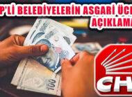 CHP'li Belediyelerde Asgari Ücret Net Olarak En Az 3100 Lira