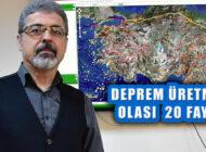 Türkiye'de Deprem Üretme Olası 20 Faya Dikkat Çekti