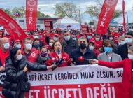 DİSK Asgari Ücret Açıklaması: 'Sefalet Ücreti İle Açlığa Mahkum Ettiniz'