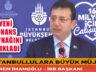 İBB Başkanı Ekrem İmamoğlu Finans Kaynağı Açıklaması