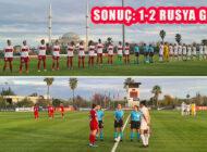 Kadın A Milli Futbol Takımı Eleme Maçında Rusya'ya 2-1 Yenildi
